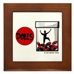 Dolls 2006 Framed Tile