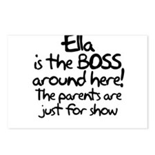 Ella is the Boss Postcards (Package of 8)