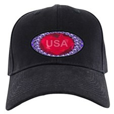USA Ruby Heart Baseball Hat