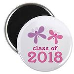 2018 Girls Graduation Magnet