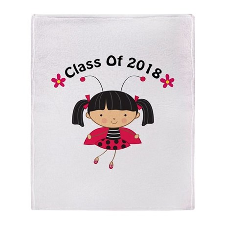 2018 Class Throw Blanket