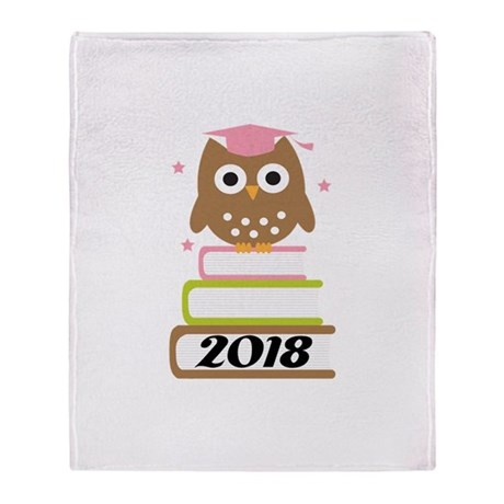 2018 Top Graduation Gifts Throw Blanket