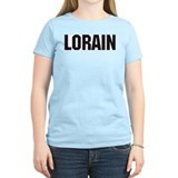 Lorain, Ohio Women's Pink T-Shirt