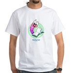 Worm White T-Shirt