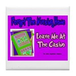Nursing Home Casino Tile Coaster