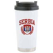 Serbia Ceramic Travel Mug