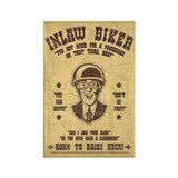 Inlaw Biker Rectangle Magnet (100 pack)