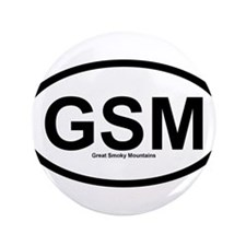 "GSM - Great Smoky Mountains 3.5"" Button"