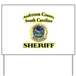 Anderson Sheriff Aviation Yard Sign