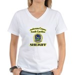 Anderson Sheriff Aviation Women's V-Neck T-Shirt