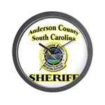 Anderson Sheriff Aviation Wall Clock