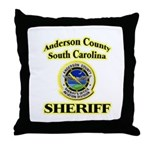 Anderson Sheriff Aviation Throw Pillow