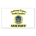 Anderson Sheriff Aviation Sticker (Rectangle 10 pk