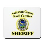 Anderson Sheriff Aviation Mousepad