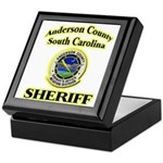 Anderson Sheriff Aviation Keepsake Box