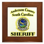 Anderson Sheriff Aviation Framed Tile