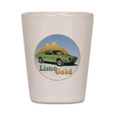 The Lime Gold Shot Glass