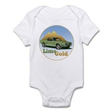 The Lime Gold Infant Bodysuit
