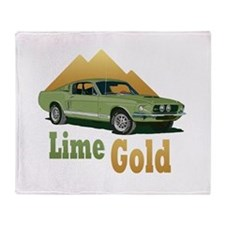 Shelby gt500 Throw Blanket