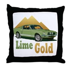 Shelby gt500 Throw Pillow