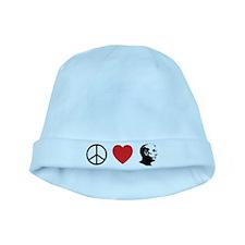Peace Love Ron Paul baby hat