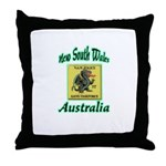 NSW Police Gang Task Force Throw Pillow