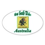 NSW Police Gang Task Force Sticker (Oval 10 pk)