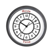 Movie Theme Wall Clock