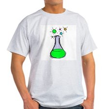 Beaker Geek Ash Grey T-Shirt