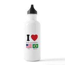 USA-BRAZIL Water Bottle