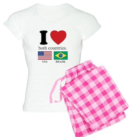 USA-BRAZIL Women's Light Pajamas