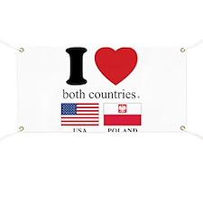 USA-POLAND Banner