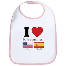 USA-SPAIN Bib