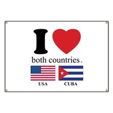USA-CUBA Banner