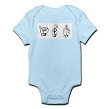 IVF (fingerspelling) Infant Bodysuit