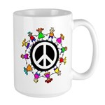 Peace Kids Large Mug