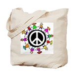Peace Kids Tote Bag