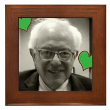 I (heart) Bernie Framed Tile