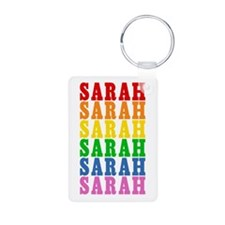 Rainbow Name Keychains