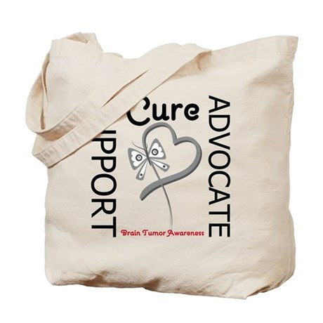 Brain Tumor Support Tote Bag