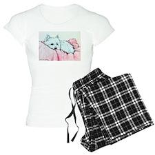 Napping Westie Pajamas