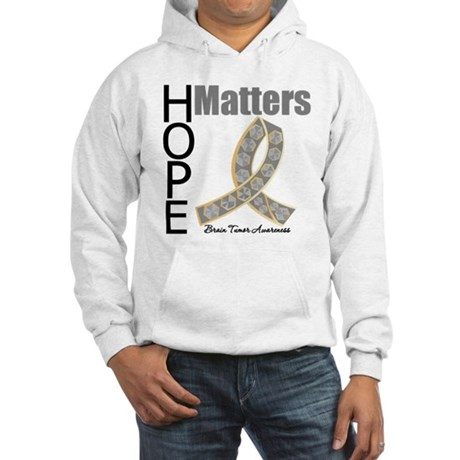 Brain Tumor Hope Matters Hooded Sweatshirt