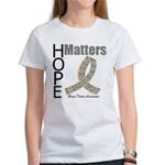 Brain Tumor Hope Matters Women's T-Shirt