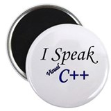 """I Speak Visual C++"" Magnet"