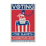 Voting Mini Poster Print