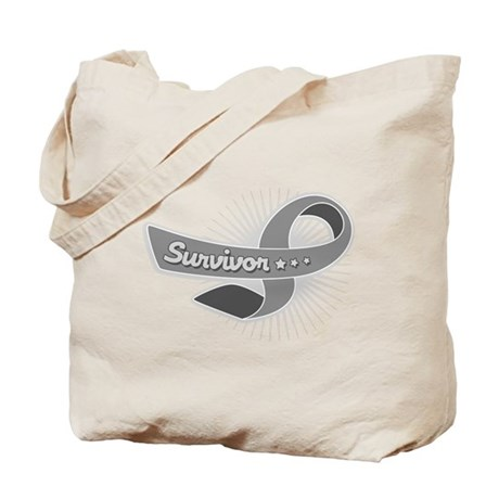 Brain Tumor Survivor Tote Bag