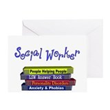 Social Worker Greeting Card