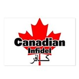 Canadian Infidel Postcards (Package of 8)