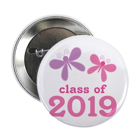 "2019 Girls Graduation 2.25"" Button"