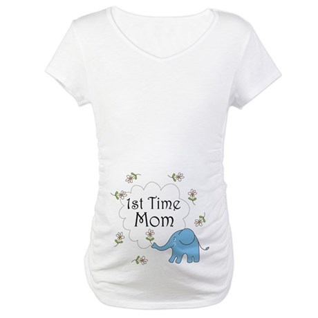 First Time Mom Maternity T-Shirt